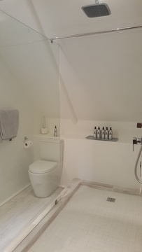 2nd bathroom family suite with rain shower and separate toilet